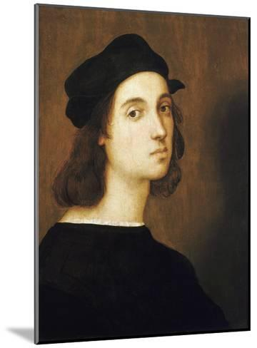 Self-Portrait by Raphael--Mounted Giclee Print