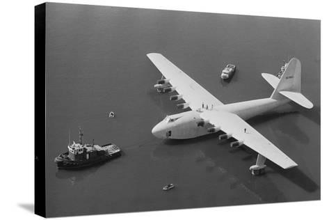Howard Hughes' Spruce Goose--Stretched Canvas Print