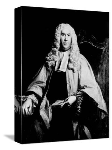Portrait of Sir William Blackstone--Stretched Canvas Print