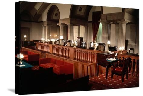 Supreme Court without Occupants--Stretched Canvas Print