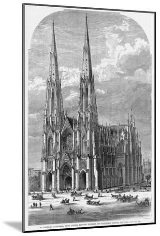 St. Patrick's Cathedral, Fifth Avenue, between Fiftieth and Fifty-First Streets, New York.--Mounted Giclee Print