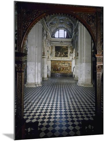 Central Aisle to High Altar of Santa Maria Maggiore Basilica, Bergamo, Italy, 12th-17th Centuries--Mounted Giclee Print