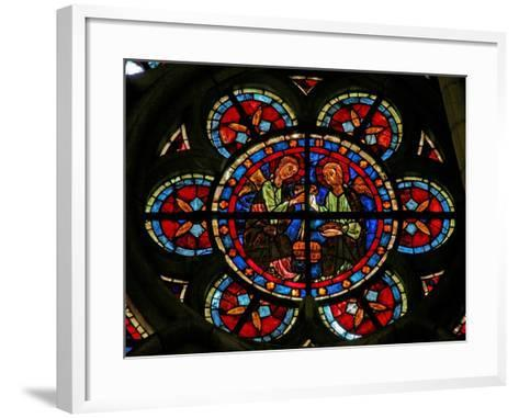 Window W206 Depicting Angels with Censers--Framed Art Print