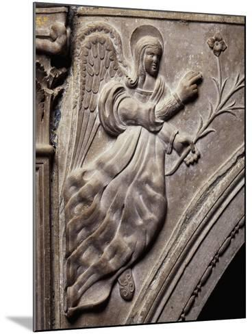 Angel, Detail of Larino Cathedral, Molise, Italy--Mounted Giclee Print