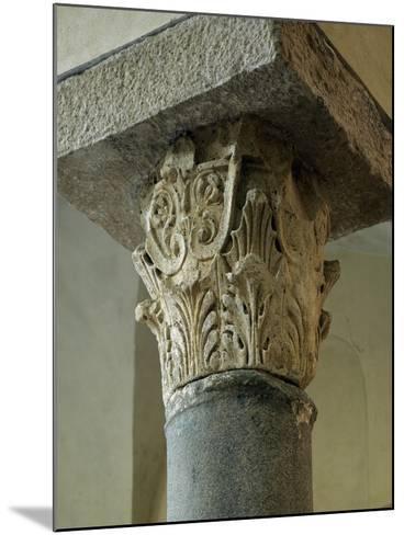 Capital of Column, Church of San Giovanni Mare, Gaeta, Lazio, Italy, 10th Century--Mounted Giclee Print