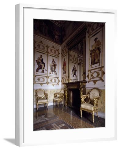 Hall of Apollo--Framed Art Print