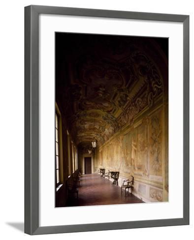 Italy, Emilia-Romagna, Rocca Meli-Lupi of Soragna, Gallery--Framed Art Print