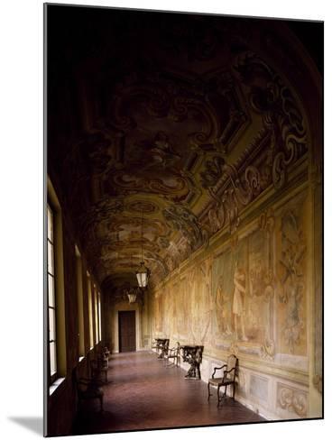Italy, Emilia-Romagna, Rocca Meli-Lupi of Soragna, Gallery--Mounted Giclee Print