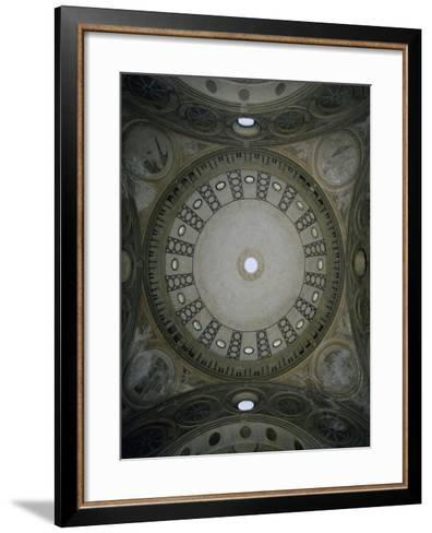 Italy, Milan, Church of St Mary the Gracious, Interior of Dome--Framed Art Print