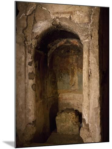 Aedicula of Saint Women, Where Confirmation Was Administered--Mounted Giclee Print