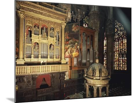 Organ from Presbytery, Milan Cathedral, Italy, 16th Century--Mounted Giclee Print