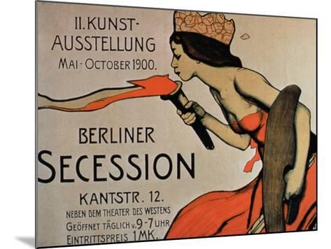 Berlin Secession', Poster for the Exhibition from May-October 1900--Mounted Giclee Print