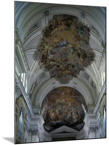 Central Nave Frescoed Vault, Palermo Cathedral, Sicily, Italy--Mounted Giclee Print