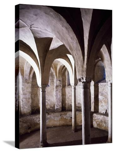 Crypt, St Vincent's Basilica, Galliano, Italy, 10th Century--Stretched Canvas Print