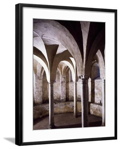 Crypt, St Vincent's Basilica, Galliano, Italy, 10th Century--Framed Art Print