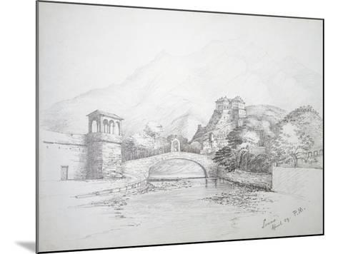 Glimpse of Loano, April 1859, Italy--Mounted Giclee Print