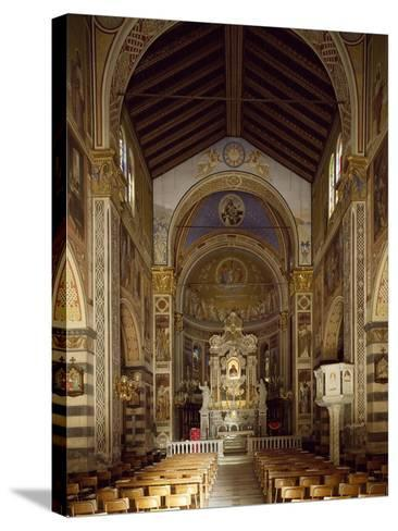 Interior of Shrine of Our Lady of Bridge, 15th-19th Century--Stretched Canvas Print