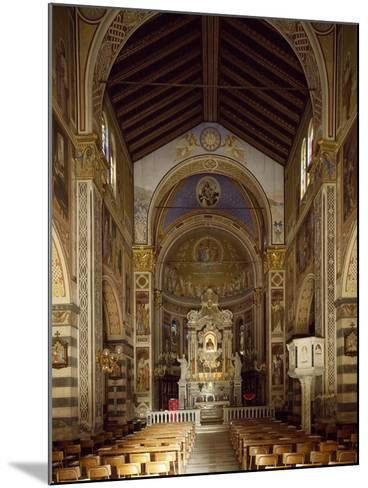 Interior of Shrine of Our Lady of Bridge, 15th-19th Century--Mounted Giclee Print