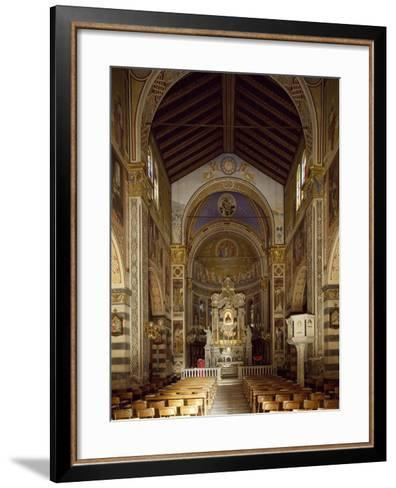 Interior of Shrine of Our Lady of Bridge, 15th-19th Century--Framed Art Print