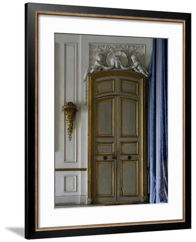 Reception Room, Ducal Palace, Colorno, Emilia-Romagna, Detail, Italy--Framed Art Print