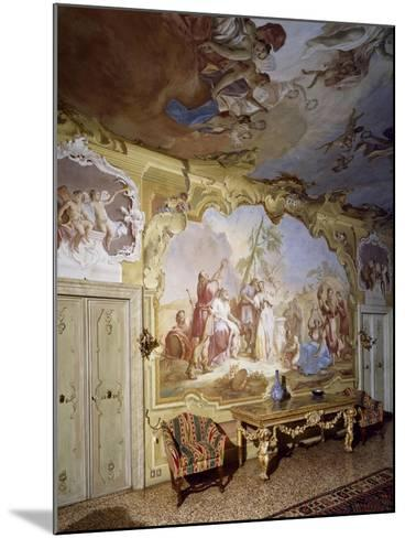 Glimpse of Central Hall with Frescoes--Mounted Giclee Print