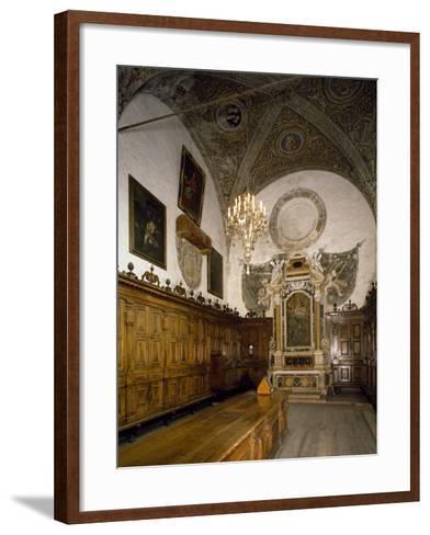 Sacristy, Cathedral of Mantua--Framed Art Print