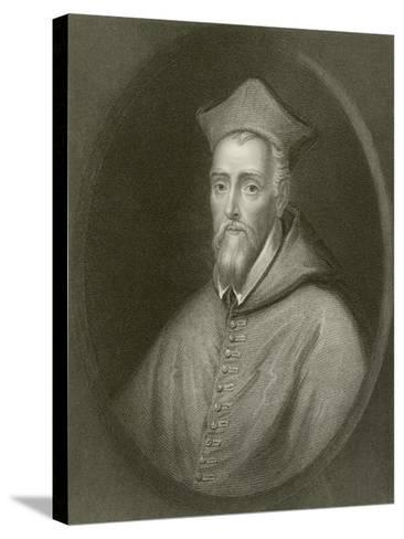 Cardinal Allen--Stretched Canvas Print