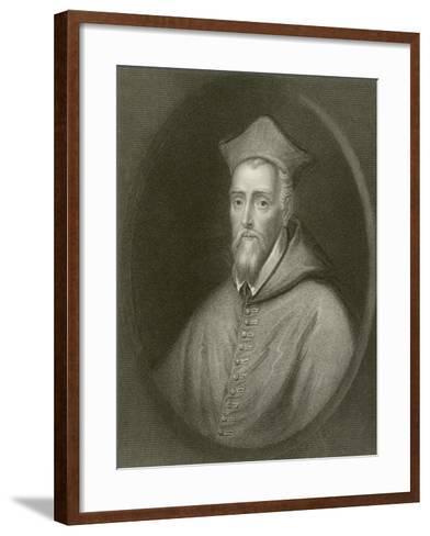 Cardinal Allen--Framed Art Print