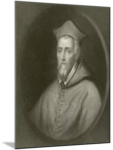 Cardinal Allen--Mounted Giclee Print