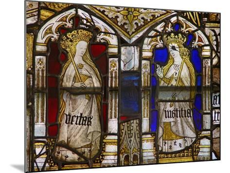A Panel in the East Window Depicting the Cardinal Virtues: Truth--Mounted Giclee Print