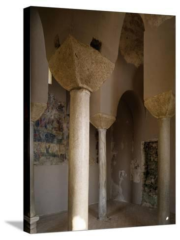 Interior of Catholic Church of Stilo, Calabria, Italy, 9th-10th Century--Stretched Canvas Print