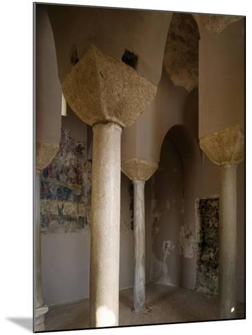 Interior of Catholic Church of Stilo, Calabria, Italy, 9th-10th Century--Mounted Giclee Print