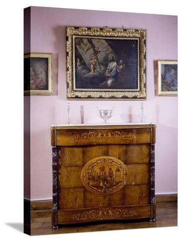 Room, Marquis De Benemejis' House, Santillana Del Mar, Spain--Stretched Canvas Print