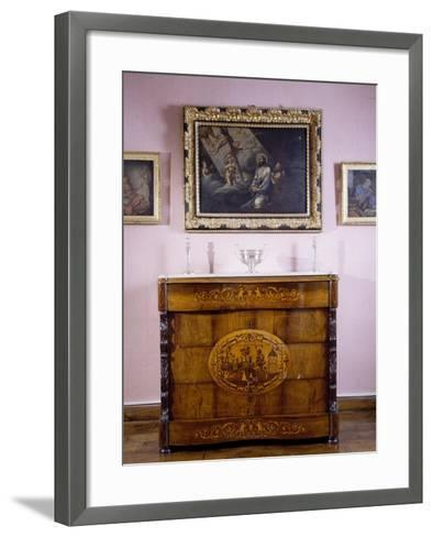Room, Marquis De Benemejis' House, Santillana Del Mar, Spain--Framed Art Print