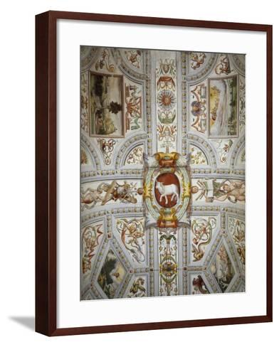 Ceiling Decoration, Villa Cicogna Mozzoni, Bisuschio, Italy, 16th Century--Framed Art Print