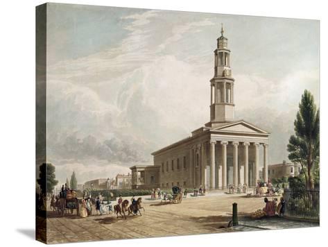 St. Pancras Church, London--Stretched Canvas Print