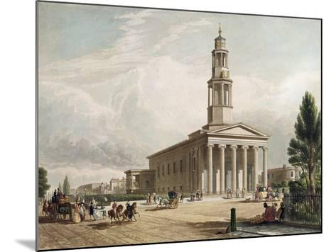 St. Pancras Church, London--Mounted Giclee Print