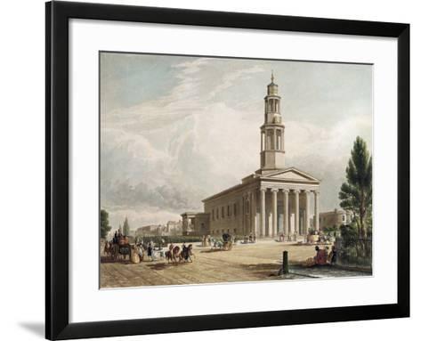 St. Pancras Church, London--Framed Art Print