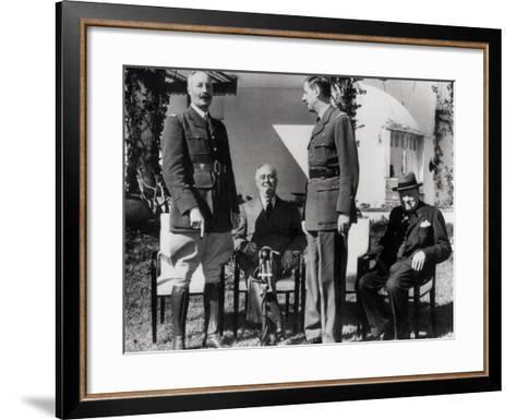 General Giraud--Framed Art Print