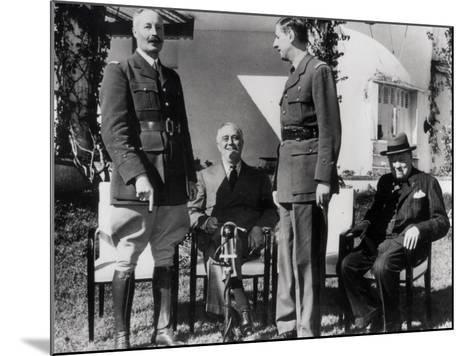 General Giraud--Mounted Photographic Print