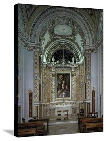 Interior of Chapel of Villldobrandini, Frascati, Italy, 16th-17th Century--Stretched Canvas Print
