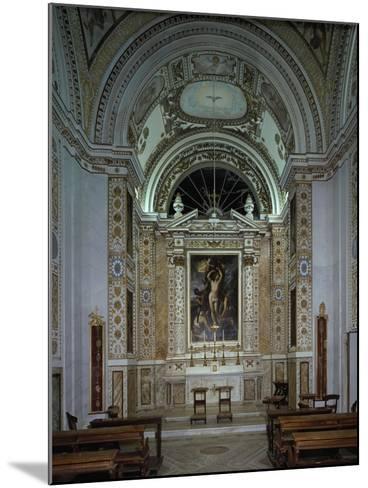Interior of Chapel of Villldobrandini, Frascati, Italy, 16th-17th Century--Mounted Giclee Print