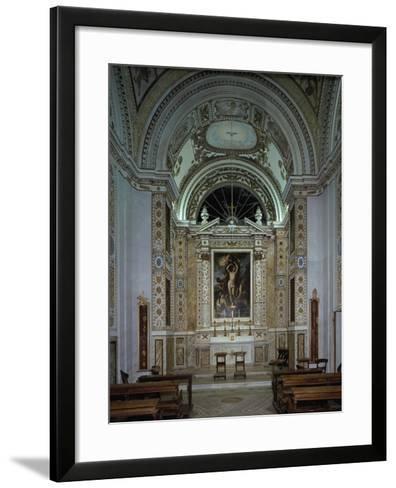 Interior of Chapel of Villldobrandini, Frascati, Italy, 16th-17th Century--Framed Art Print