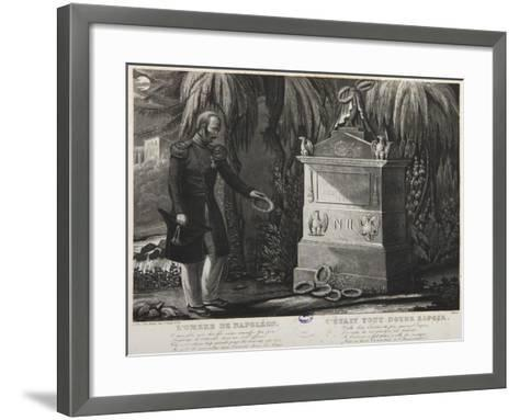 The Shadow of Napoleon, Tomb of Napoleon II--Framed Art Print
