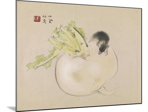 White Radish--Mounted Giclee Print