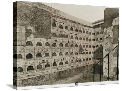 The Columbarium--Stretched Canvas Print