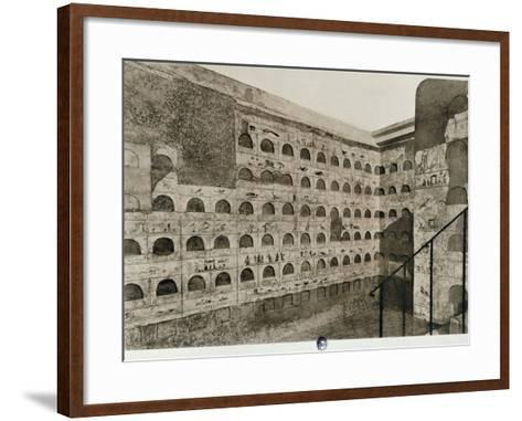 The Columbarium--Framed Art Print