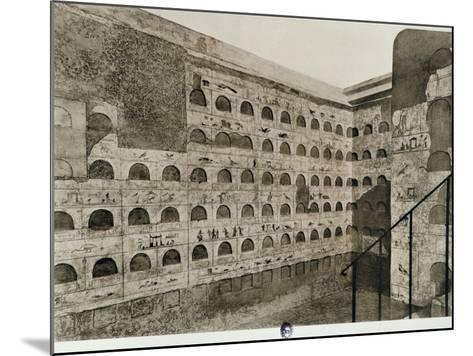 The Columbarium--Mounted Giclee Print