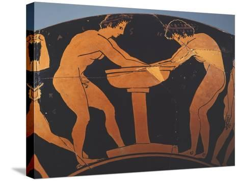 Cup, 480 BC--Stretched Canvas Print