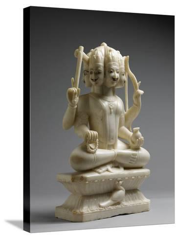Kumara, Hindu God of War--Stretched Canvas Print